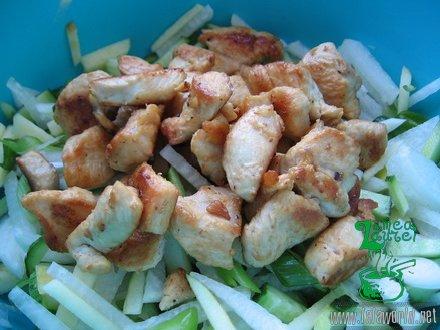 IMG 9709 resize Salata din piept de pui cu cruditati