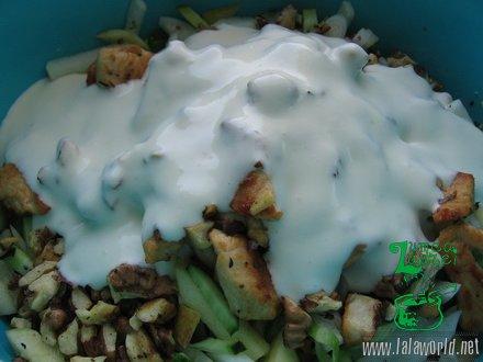 IMG 9716 resize Salata din piept de pui cu cruditati