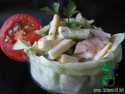 IMG 9724 resize Salata din piept de pui cu cruditati