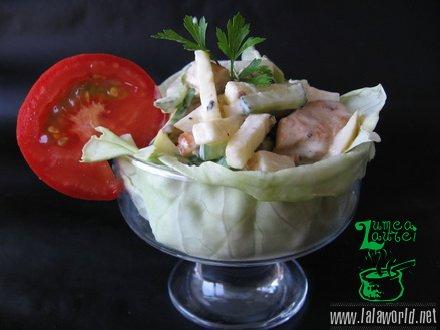 IMG 9730 resize Salata din piept de pui cu cruditati