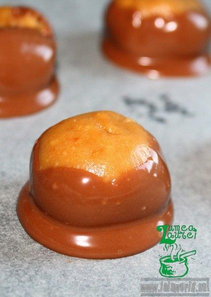 Bomboane cu unt de arahide si ciocolata resize Bomboane cu unt de arahide si ciocolata