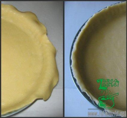 Forma tarta Tarta cu caramel, migdale si ganache de ciocolata
